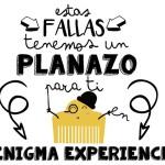 fallas 2016 en enigma Valencia